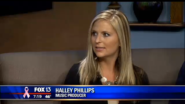 Halley Phillips Music Producer Fox13 Memphis Interview
