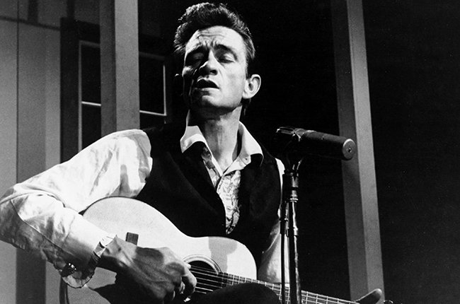 American rock and country singer-songwriter Johnny Cash (1932 - 2003), circa 1965. (Photo by Silver Screen Collection/Hulton Archive/Getty Images)